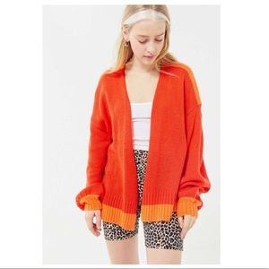 UO Truly Madly Deeply Bri Oversized Cardigan